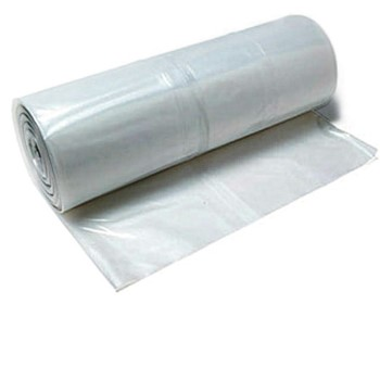 Clear Poly Polyethylene Sheeting, 4 x 20 c 20 X 100 feet 4 mil