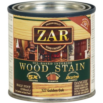 Wood Stain~ Golden Oak,  1/2 Pint