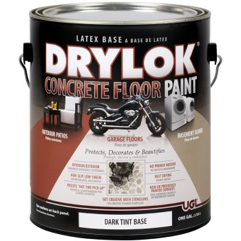 Drylok Concrete Floor Paint, Dark Tint Base ~ Gallon