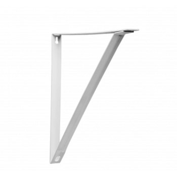 Shelf Brackets, White ~ 11""
