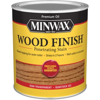 Wood Finish ~ Gunstock,  Quart