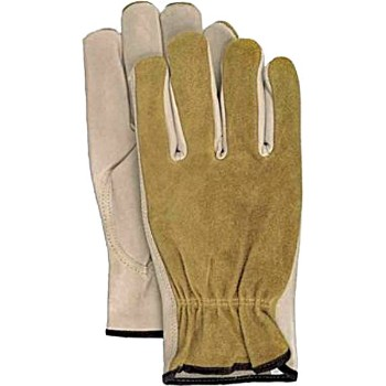 Driver Gloves, Grain Leather ~ Size Large