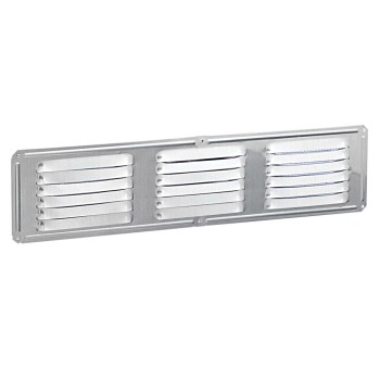 "Air Vent Inc 84229 Undereave  Vent,  Galvanized ~ 16"" x  4"""
