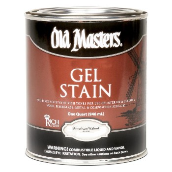 Gel Stain, American Walnut ~ Quart