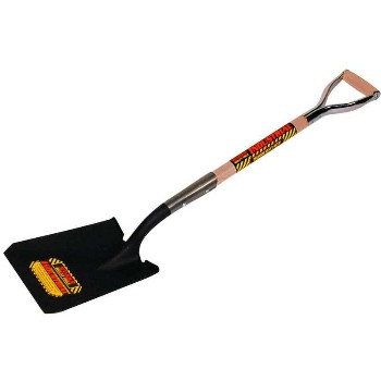 Square Point Shovel ~ 14 gauge