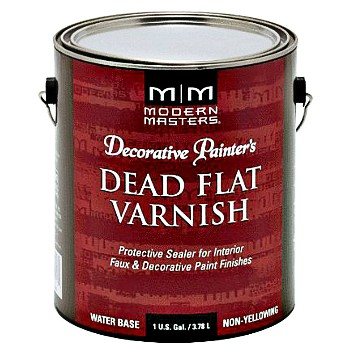 Modern Masters DP609-GAL Dead Flat Varnish, Water Based Interior ~ Gallon