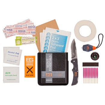 Bear Grylls Scout Essentials Kit, Plastic case