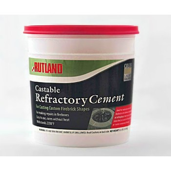 Rutland 611 Refractory Cement ~ One Gallon
