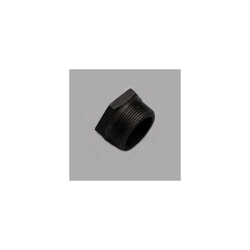 11/2x1 Black Bushing