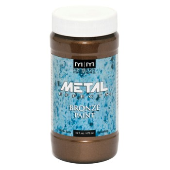 Modern Masters ME396-16 Bronze Metal Paint ~ 16 ounce