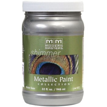 Metallic Paint, Silver ~  32 Ounce