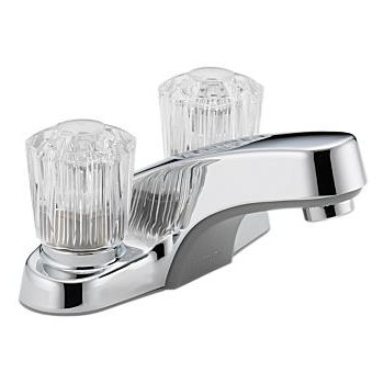 Lavatory Faucet, Two Handle ~ Chrome