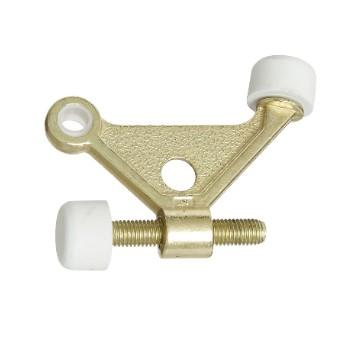 National 187682 Hinge Pin Door Stop, Brass