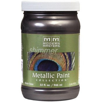 Modern Masters ME243-32 Metallic Paint, Smoke 32 Ounce