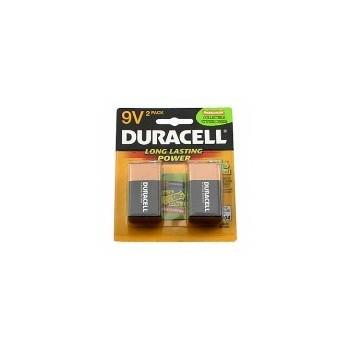 Duracell DURMN1604B2Z Mn21601b2z 2pk 9 Volt Battery