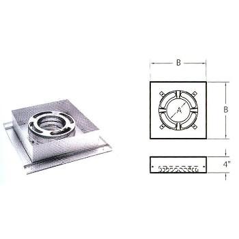 M & G Duravent 6DP-FCS Flt Ceil Support Box
