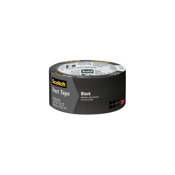 1020-Blk-A 2x20yd Bl Duct Tape