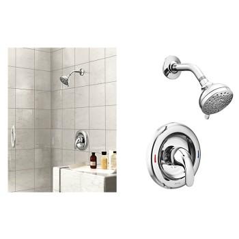 Buy The Moen 82604 Adler Posi Temp Single Handle Shower Faucet
