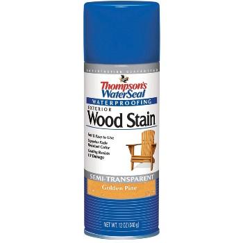 Thompson´s  Waterproofing Exterior Stain, Golden Pine ~ 12 oz