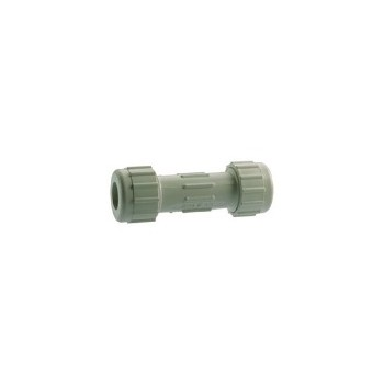 PVC Compression Coupling, 1/2 inch
