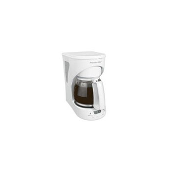 Hamilton Beach 43571Y 12 Cup Programmable Coffeemaker, White