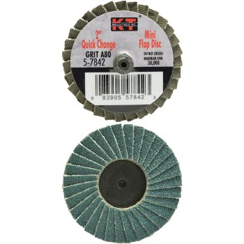 2in. 80g Mini Flap Disc