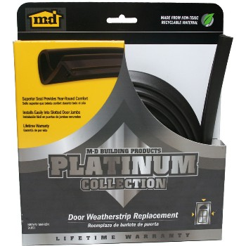 Platinum Collection Door Weatherstrip,  Brown  ~  84""