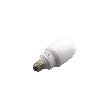 Compact Fluorescent Light Bulb, Cylinder 15 Watt