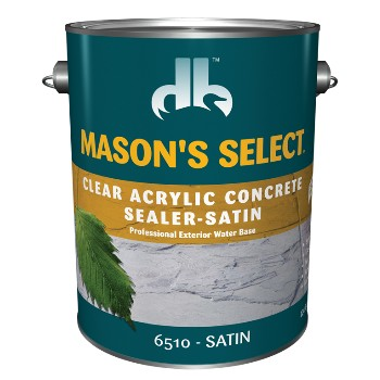 Concrete Sealer ~ Acrylic, Clear Satin - Gallon