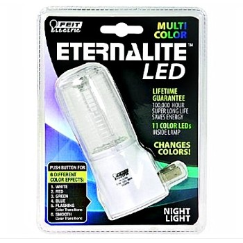 Feit Elec. NL7/LED Night Light, Color Changing Eternalite