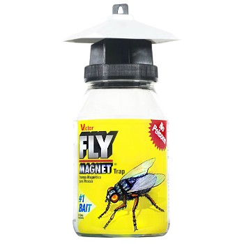 Fly Magnet™  Trap w/Bait ~ One Quart Jar