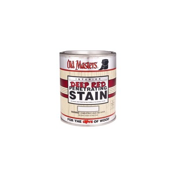 Old Masters 44304 Qt Rich Mah Dp Red Stain