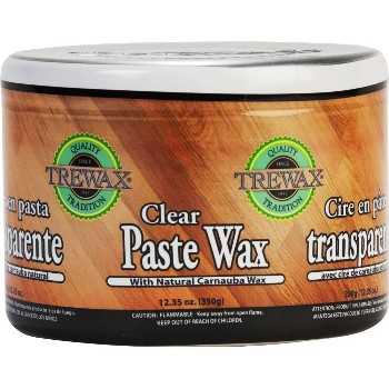 Beaumont Products 887101016 Trewax Clear Paste Wax ~ 12.35 oz