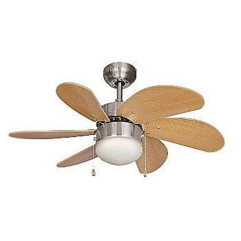 Ceiling Fan, Monterey Series/Satin Nickel ~ 30""