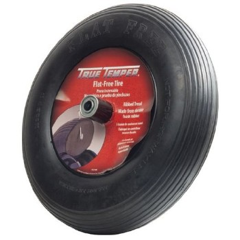 Ames   FFTCC Wheelbarrow Tire, Soilid Flat-Free ~ 8""