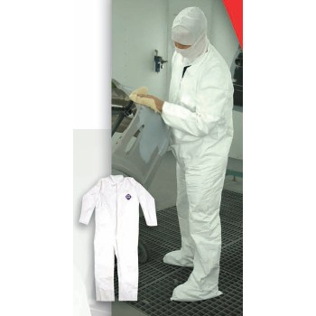 Trimaco 14122 DisposableTyvek Coverall ~ Large