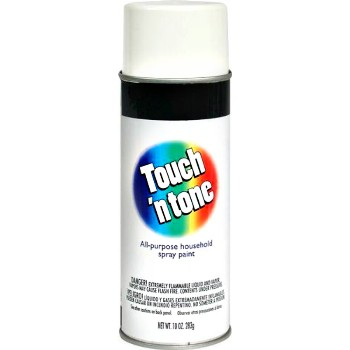 Touch 'N Tone Spray Enamel Gloss White