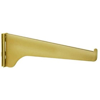 KV Bracket -180 Series,  Brass Finish ~ 10""