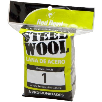 Steel Wool  8 Pad #1