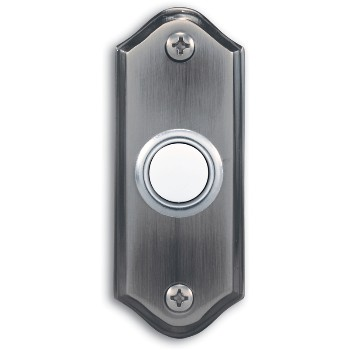 "Lighted Door Button, 1.25"" W x 3 1/8"" H"