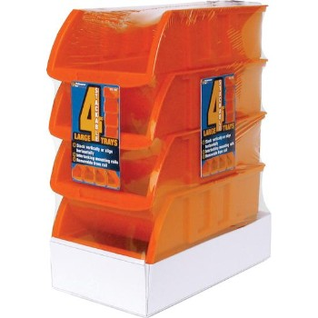 Wilmar Corp W5196 Storage Trays, Large ~ 4 Piece