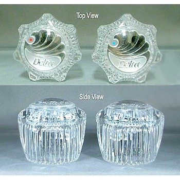 Delta Faucet H21 Crystal Knob Handles ~ One Pair