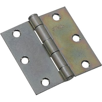 Zinc Loose-Pin Broad Hinges ~ 3 x 3 inches