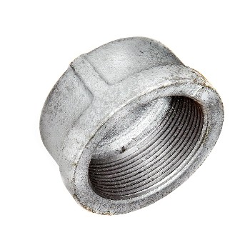 Pipe Cap,  Galvanized ~ 1.25""