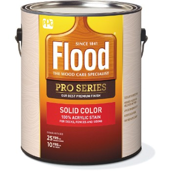 PPG/Akzo FLD822-01 Flood Pro Series Solid Color Deck Stain,  Deep Tint Base ~ Gallon