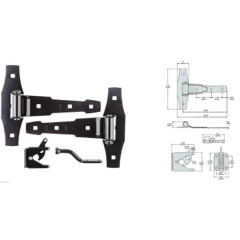 Gate Kit, Black