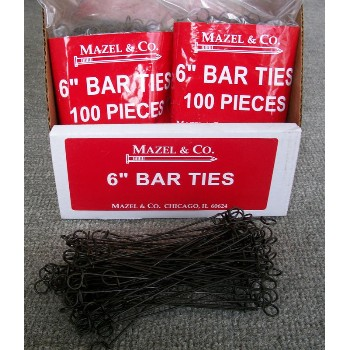 6in. Bar Tie 100/Bg
