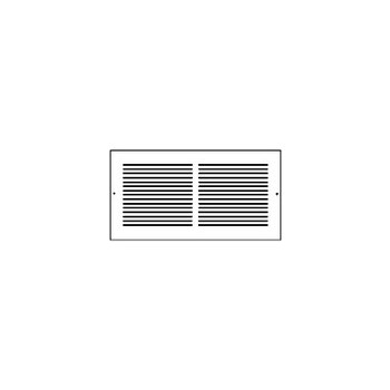 Hart & Cooley 372W30X6 Wh Return Air Grille