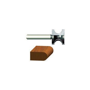 Bosch/Vermont American 23157 Bull Nose Router Bit - 3/16 inch radius