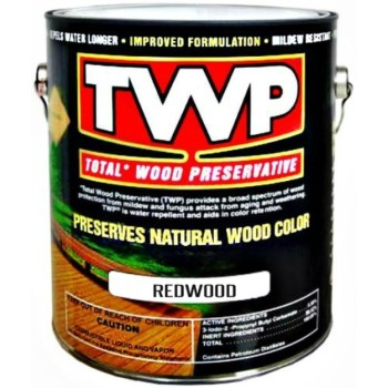 TWP Total Wood Preservative, Redwood ~ Gallon